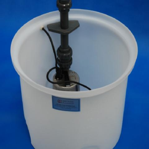 Messwasserrückführungsanlage